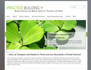 Wordpress Templates for therapists