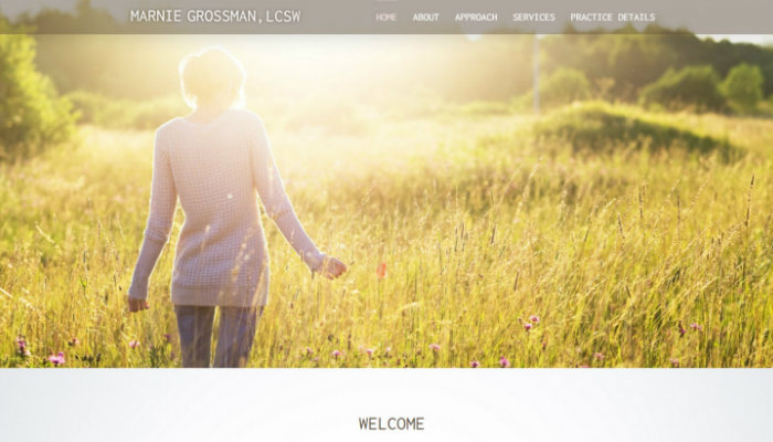 website design for therapists counselors and healers