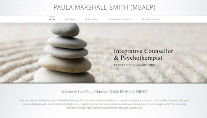counselling counsellor website design, wordpress website design for counsellors